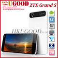 Original ZTE Grand S Quad Core 1.5G Android 4.1 3G Android Phone 2GB RAM16GB 5.0&quot; IPS 1920*1080 Screen Thinnest Freeshipping