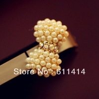 Free Shipping Cell Phone Accessories Phone Jewelry Pearl Bow Dust Plug Cute,3.5mm dust plug for iphone