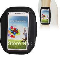 Free Shipping Black Running Sports Armband Case for samsung Galaxy S4 i9500 100pcs/lot