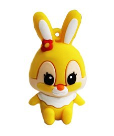HOTSALE 1GB 2GB 4GB 8GB 16GB Free Shipping Rabbit USB Flash Memory Stick(China (Mainland))