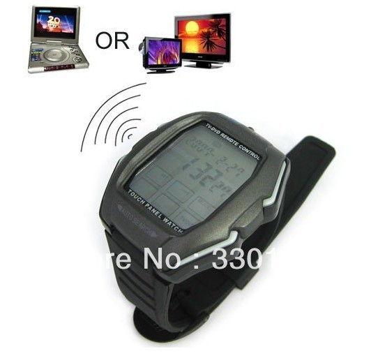 Multifunction Touch Panel Sport Digital Watch Wristwatch for Men Support TV-DVD RC/Alarm/Stopwatch/Calender, Free Shipping(China (Mainland))