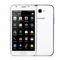 Star N9588 N9589 Android 4.2 Phone 5.7 inch IPS Screen 1280x720p 3G WCDMA MTK6589 Quad core 1GB RAM 4GB White Black Case