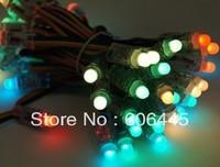 5V arduino Digital DMX dot madrix 12mm LED Pixel module addressable Full color rgb single led light source