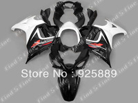 gloss black white fairings for SUZUKI GSX650F 08 09 10 GSX 650F 08-10 GSXR650 2008-2010 2008 2009 2010 ABS fairing kit