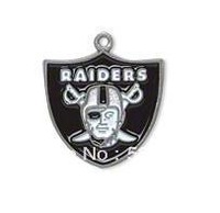 Free shipping (Can be Mixed) sport sport enamel Oakland Raiders football team logo charms 50 pcs a lot