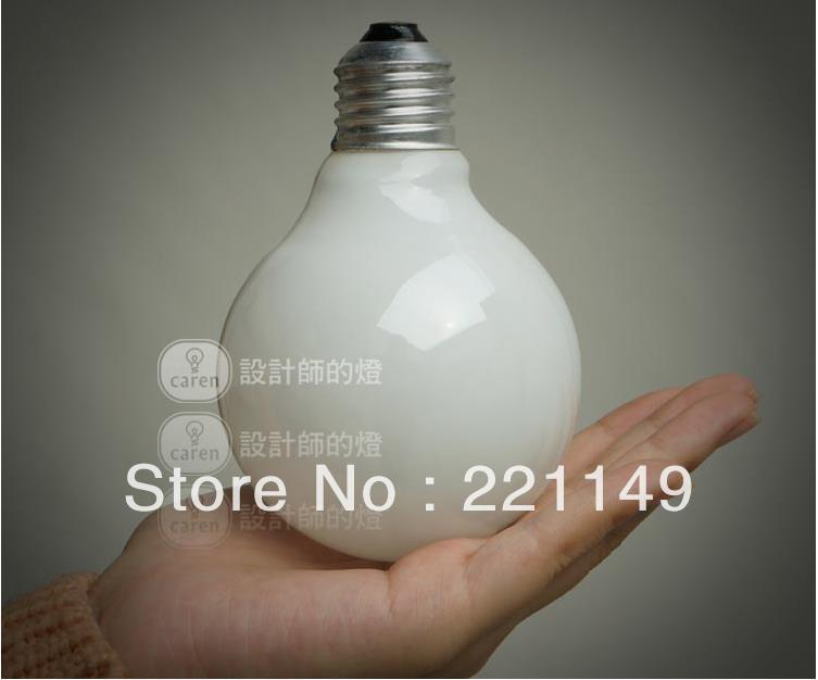Free Shipping! 5PC/bag Incandescent lighting Filament Dragon Ball Art light bulb vintage retro Edison lamp E27 Halogen Bulbs.(China (Mainland))