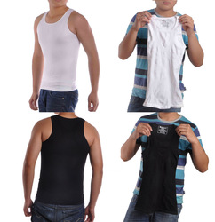 Elasticity Slim'N Lift Men's Body Shaper Lose Weight Slimming Vest Shirt Fatty(China (Mainland))