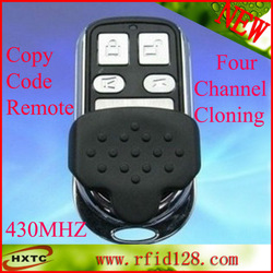 User-Fridly 430Mhz rf 4 Channel Universal remote control copy code remote duplicator copy Cloner For Electric door Free Shipping(China (Mainland))