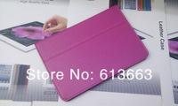 Cheap 2 Fold litchi grain PU Leather cover Case for ipad mini Protector case for ipad mini 50pcs/lot,Free shipping