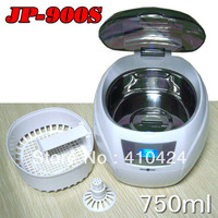 750ML 50W 110V / 220V Ultrasonic Cleaner Digital Glasses Disk Jewelry Cleaning Machine