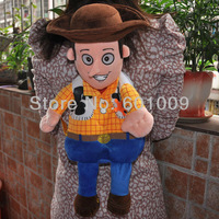 "Free Shipping EMS 10/Lot Toy Story 3 WOODY Plush School Bag Backpack 19"" Brand New Wholesale"