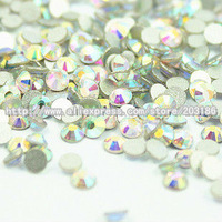 AB Crystal/Clear Flat Back SS4(1.4-1.6mm) 1440pcs/Lot Nail Art Non Hotfix Glue-on Crystals Rhinstones UP to 15$ free shipping