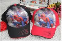 Hot kids children boys baseball cap!  spiderman baseball cap for kids of 3 4 5 6 7 8 years! 50-54cm!