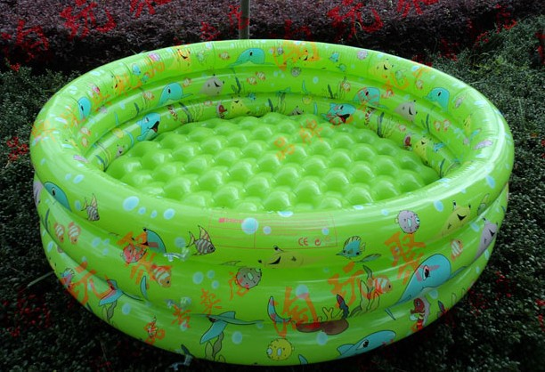Genuine Yingtai 80cm tricyclic inflatable children&#39;s wading pool baby pool trumpet a bath tub baby tub(China (Mainland))