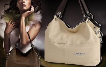 NEW 2014 New fashion 4 colors weidipolo Women Handbag cheap real brand beautiful office shoulder bag free shipping