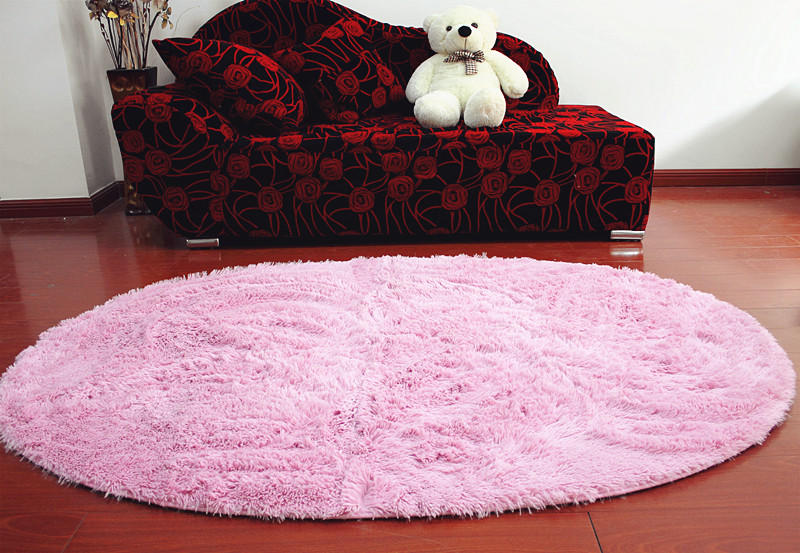 High quality long-haired pv velvet table mats piaochuang pad bath mat bed rug(China (Mainland))