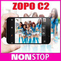 HOt Sale Original ZOPO C2 Quad core MTK6589 Android 4.2 Mobile Phone 5'' FHD 1920*1080 Screen 13.0M Camera Free