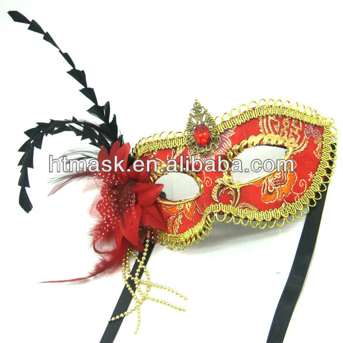 Ball Mask Factory Outlet Sale Beautiful Design Handmade Painted Low Cheap Price Good Quality Free Shipping(China (Mainland))