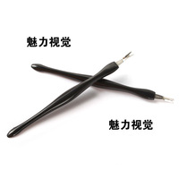 Nail Art Cuticle Pusher Trimmer Remover Nail Manicure Tool Free Shipping 042