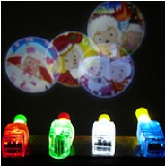 Free shipping,8pcs/lot,LED light up fingervProjection lamp,flash laser light led shine  projection finger lights
