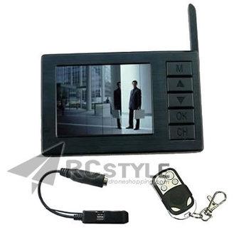 DVR-DV01 Mini Wireless 8CH 5.8G Receiver Monitor Store Video for 5.8G TX FPV