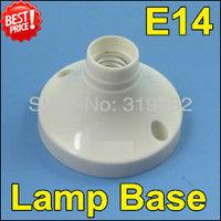 10pcs/lot, E14 fitting lamp base holder E14 LED screw candle lamp aging test stand holder