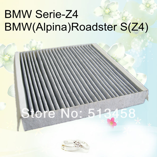 CUK2339 low price wholesale black carbon car cabin air filter for BMW 64319195193 auto part 24.5*23.2*3.2cm WIX24518(China (Mainland))