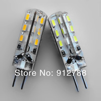 G4 led dc 12v W 3014 SMD led light G4 bulb Lamp High Lumen Energy Saving Free Shipping 10pcs/lot