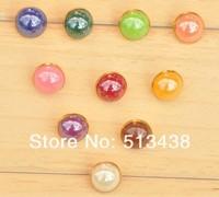 1000pcs 10mm  Mixed mushroom half ball High-end clothing buttons, baby DIY doll sewing/scrapbook/craft/Cardmaker Costume design