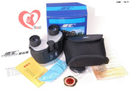 Free shipping 10X25 mini binoculars high-definition panda double pupil night vision optical telescope
