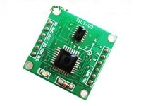 Freen shipping,  Tilt sensor module single axis 360 degrees anti-vibration + test software