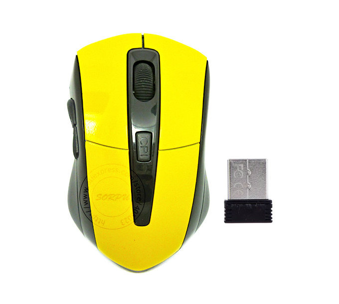 New Arrival 2.4G Wireless Mouse With Nano USB Receiver Optical Mouse For Notebook Laptop(China (Mainland))