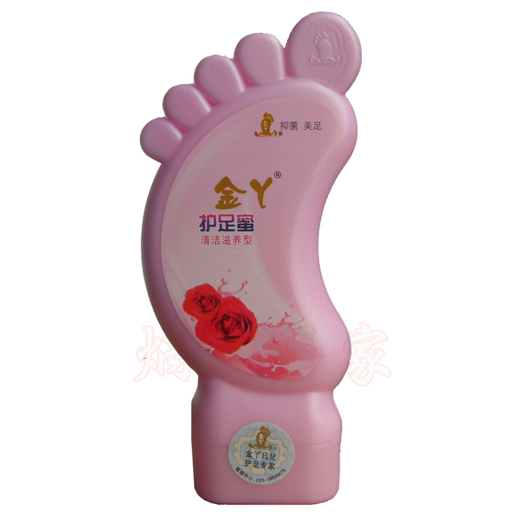 Free post wholesale best Gold honey clean foot cream(China (Mainland))