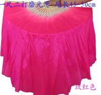 free shipping Dance fan lengthen silk fan set shanghai yangko fan dance fan props 1.6metre