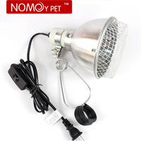 Mosquera aluminum lamp cover pet clip heated lamp base turtle tank light clip 5.5 with switch lamp holder