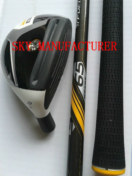 2PCS/LOT 2013 Golf Hybrids With R/S Graphite Shafts Golf Rescue Woods Fast Shipping(China (Mainland))