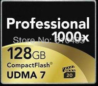 Wholesale CF card 128GB Professional 1000X UDMA7 free shipping by EMS