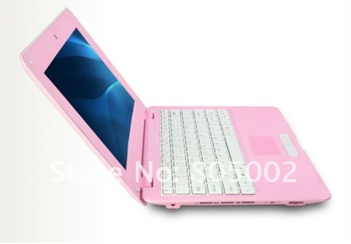 cheap New 10inch mini Laptop Computer Netbook WinCE 6.0 / Android4.0 webacm 512M 4G Via 8850 laptop(China (Mainland))