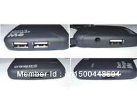 New 3 Ports USB 2.0 HUB with Multi-card Reader Combo For SD/MS/M2/TF+ Free Shipping