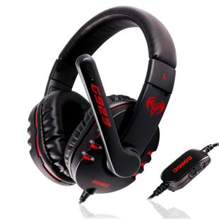 Good Quality Somic G923 Stereo Gaming Headset Headphone Powerful Bass Earphone with Microphone 40mm Hi-Fi Speaker,Free Shipping!(China (Mainland))