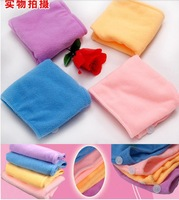Free shipping !!! Hot Lady quick dry Cap Magic Microfiber Hair Drying Towel Head Wrap  5pcs/lot  R-0200