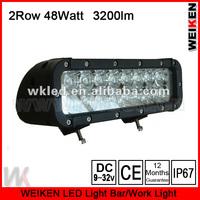 CE and  ROHS  good waterproof 2 row 48W LED light bar