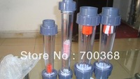 "Freeshipping water flow meter, rotameter, liquid flowmeter with thread type 10pcs/lot LZS-15 1/2"""