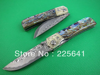 NEW !Hot Sale!Damascus knife,outdoor Tools,Camping Knife,high quality,Free Shipping
