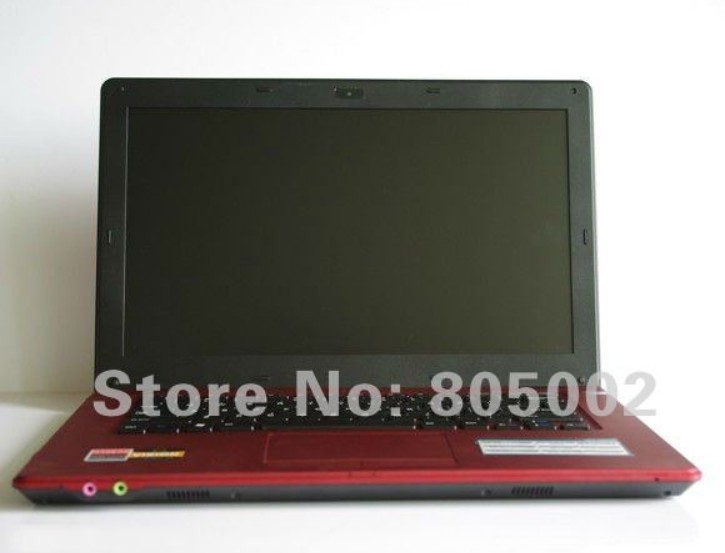 cheap 14inch Laptop computer with webcam dvd rw Windows7 / windows XP OS L700 Intel Atom D2500 Dual Core 1.86 GHZ 1G/160G !(China (Mainland))