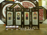 Three kingdoms - 104 figure Small reredos gift crafts