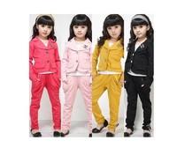 Free shipping 2013 new Hot sale Fashion elegant female child children's clothing girls clothing Girls temperament suit set
