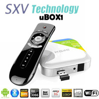 Wholesale XGIMI uBOX1 Smart RK3066 Android TV Box With Dual Core ARM Cortex-A9 1.6Ghz 1GB 4GB HDMI Bluetooth WIFI