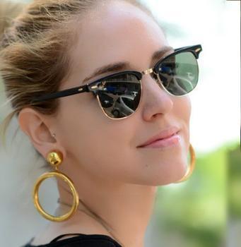 2013 Rb3016 clubmaster sunglasses men sunglasses  women frame vintage sunglasses with retail box