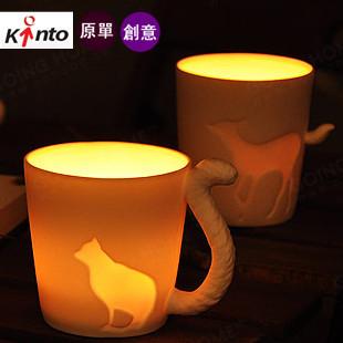 Fairy tale  kinto animal cup bone china rabbit fox cat coffee mug Creative Mark